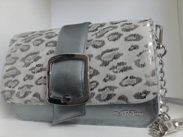 torbica majhna srebrna cluth