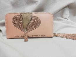 ženska denarninca z laser napisom