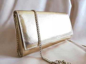 ženska torbica zlata